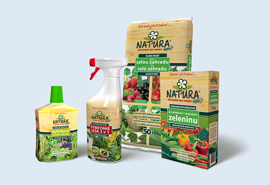 Logo and packaging of organic gardening product line
