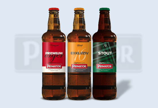 Design of new bottles and labels